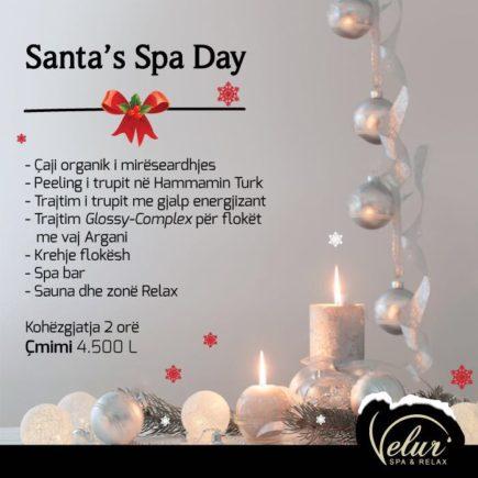 Santa's Spa Day